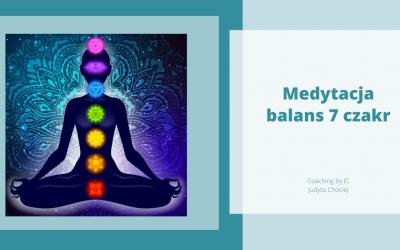 Medytacja aktywująca energię w ciele